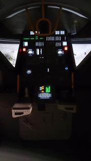 Cockpit LM Cite de l'espace photo Arnaud CARON  (2