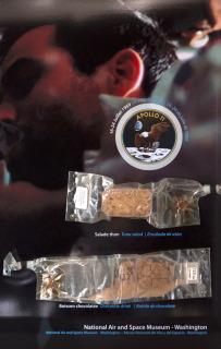 Nourriture spatiale missions Apollo_ Exposition te